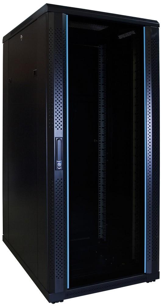 Afbeelding van 27U server cabinet unmounted with glass door 600x800x1400mm (WxDxH)