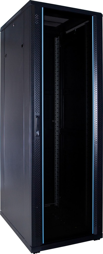 Afbeelding van 37U server cabinet unmounted with glass door 600x800x1800mm (WxDxH)