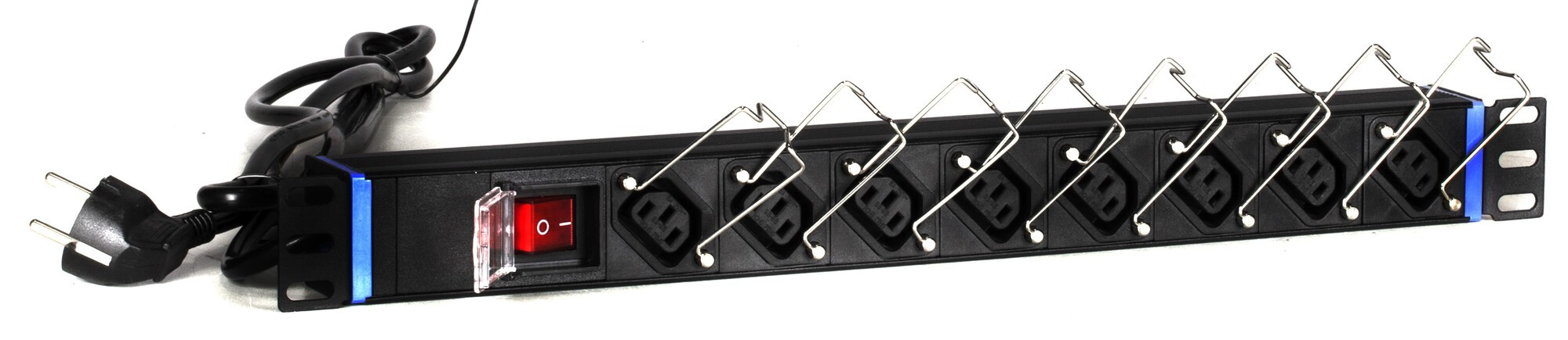 Afbeelding van 19 inch 8 way C13 power strip