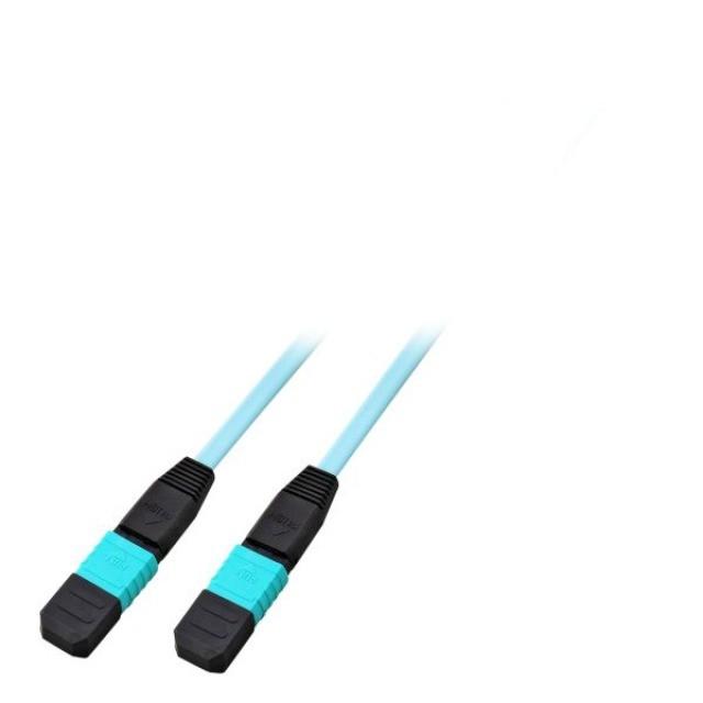 Afbeelding van OM4 fibre optic cable F-F 12 fibres MTP/MPO Type A 20 m