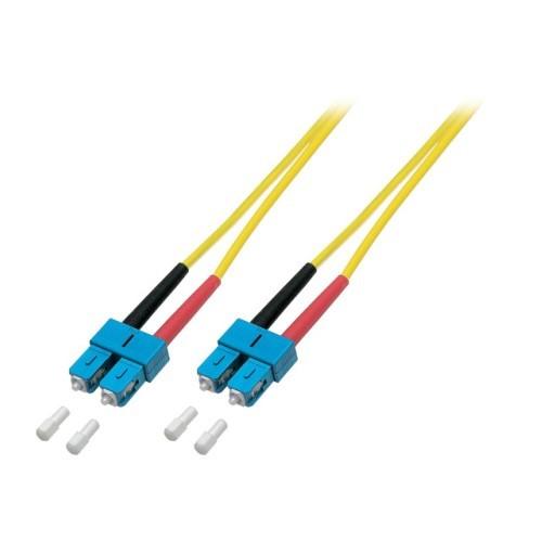 Afbeelding van OS2 duplex duplex fibre optic cable SC-SC 0,50m