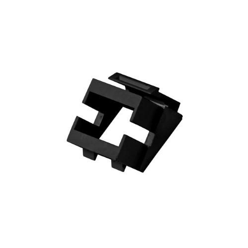 Afbeelding van Keystone adapter black
