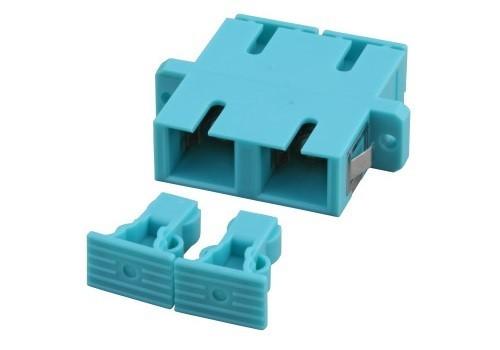 Afbeelding van Multimode coupler SC-SC duplex turquoise