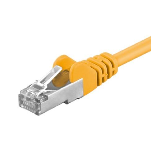 Afbeelding van CAT5e FTP 0,25m yellow