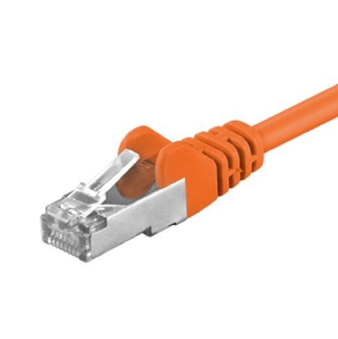 Afbeelding van CAT5e FTP 0,25m orange