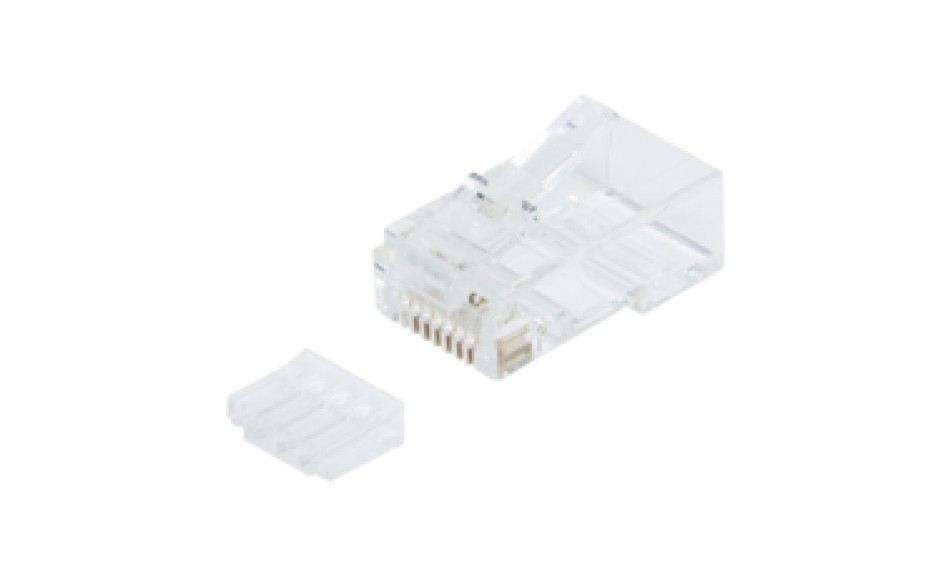 Afbeelding van CAT6 connector RJ45 - for solid UTP cables