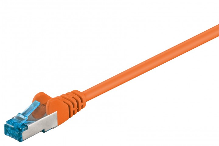 Afbeelding van CAT6a S/FTP (PIMF) 0,25m orange
