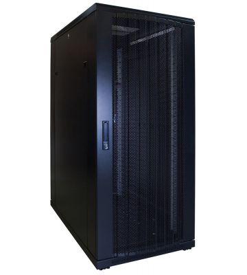 27U server rack with perforated door 600x1000x1400mm (WxDxH)