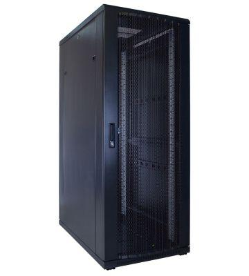32U server rack with perforated door 600x1000x1600mm (WxDxH)