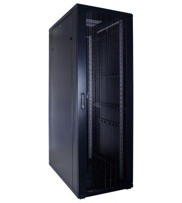 37U server rack with perforated door 600x1000x1800mm (WxDxH)