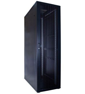 42U server rack with perforated door 600x1200x2000mm (WxDxH)
