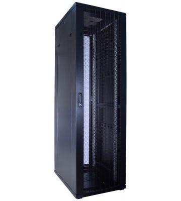 42U server rack with perforated door 600x800x2000mm (WxDxH)