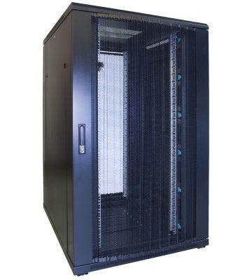 27U server rack with perofrated door 800x1000x1400mm (WxDxH)