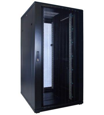 32U server rack with perforated door 800x1000x1600mm (WxDxH)