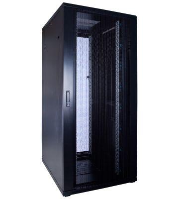 37U server rack with perforated door 800x1000x1800mm (WxDxH)