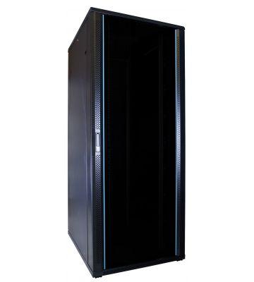 47U server rack with glass door measurements: 600x800x2260mm (WxDxH)