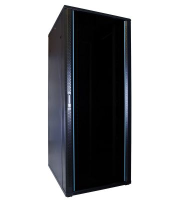 42U server rack with glass door 800x1000x2000mm (WxDxH)