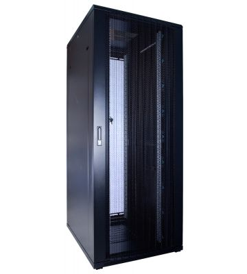 42U server rack with perforated door 800x1000x2000mm (WxDxH)