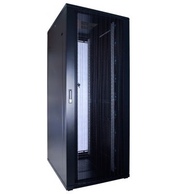 47U server rack with perforated door 600x1000x2260mm (WxDxH)