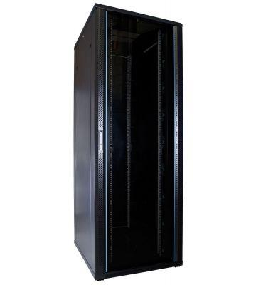 47U server rack with glass door 800x1000x2260mm (WxDxH)