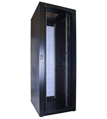 47U server rack with perforated door 800x1000x2260mm (WxDxH)