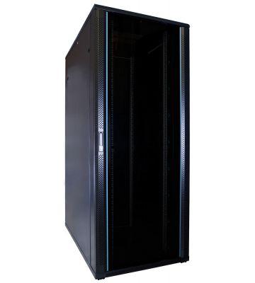 42U server rack with glass door 800x1200x2000mm (WxDxH)