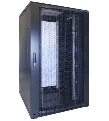 27U server rack with perofrated door 800x800x1400mm (WxDxH)