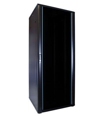 42U server rack with glass door 800x800x2000mm (WxDxH)