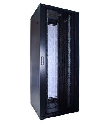 42U server rack with perforated door 800x800x2000mm (WxDxH)