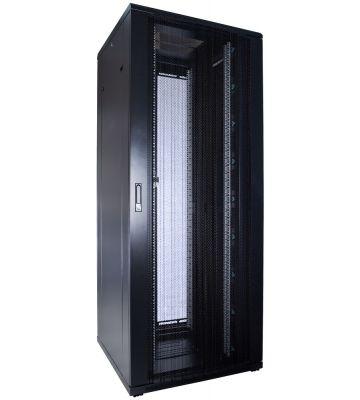 47U server rack with perforated door 800x800x2260mm (WxDxH)