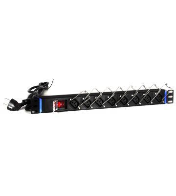 19 inch 8 way C13 power strip