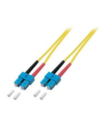 OS2 duplex fibre optic cable SC-SC 7,50m