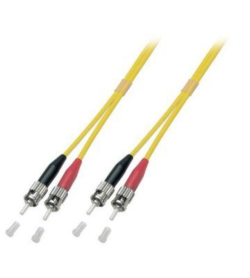 OS2 duplex fibre optic cable ST-ST 15m