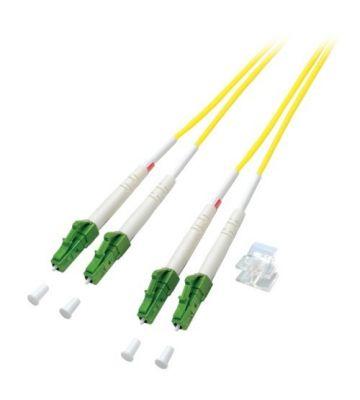 OS2 duplex fibre optic cable LC/APC-LC/APC 10m