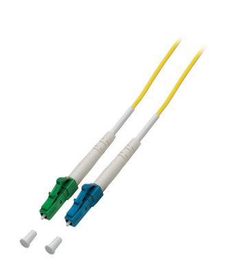 OS2 simplex fibre optic cable LC/APC-LC 1m