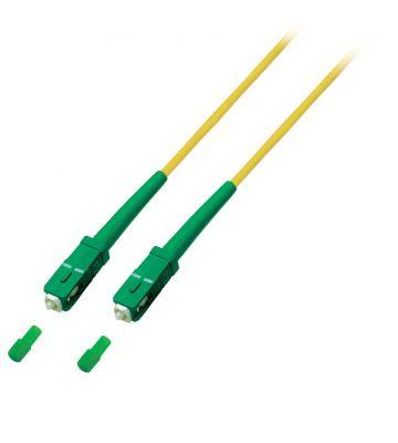 OS2 simplex fibre optic cable SC/APC-SC/APC 15m