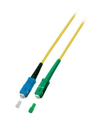 OS2 simplex fibre optic cable SC/APC-SC 7m