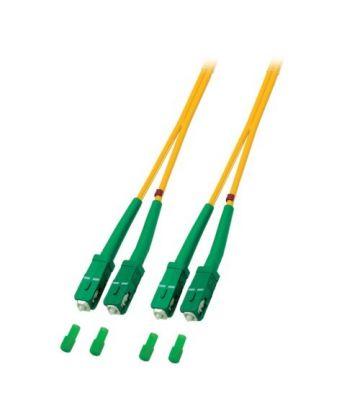OS2 duplex fibre optic cable SC/APC-SC/APC 15m
