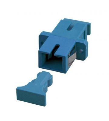 Singlemode coupler SC-SC simplex blue