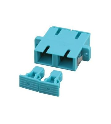 Multimode coupler SC-SC duplex turquoise