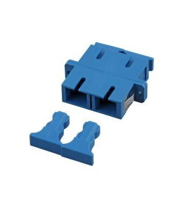 Singlemode coupler SC-SC duplex blue