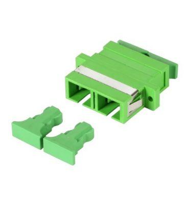 Singlemode koppeling SC-SC duplex green