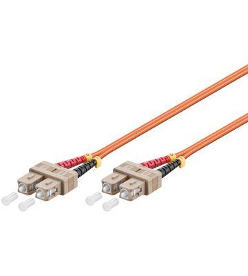 Fibre optic cable SC-SC OM2 1m