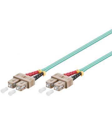Fibre optic cable SC-SC OM3 15m