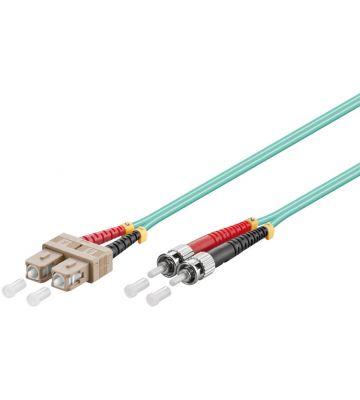 Fibre optic cable SC-ST OM3 0,50m