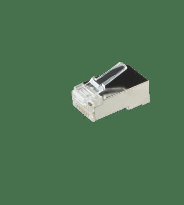 CAT5e connector RJ45 - shielded