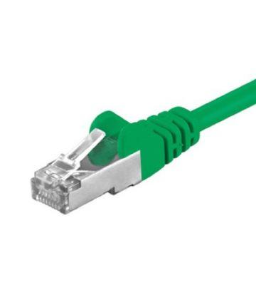 CAT5e FTP 1m green