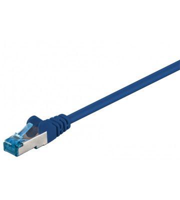 CAT6a S/FTP (PIMF) 0,25m blue