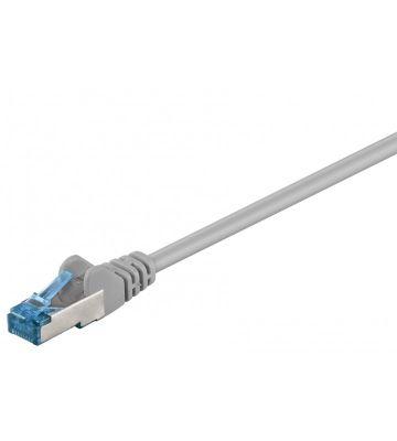 CAT6a S/FTP (PIMF) 0,50m grey