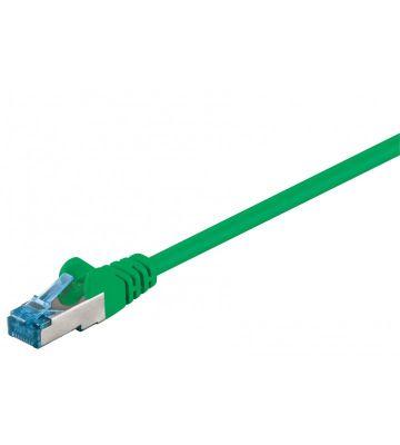 CAT6a S/FTP (PIMF) 0,50m green